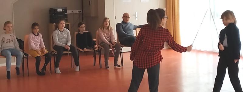 Théâtre – Enfants             Atelier d'expressions