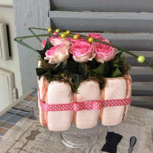 création de l'atelier d'art floral