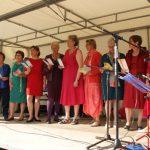 Représentation de l'atelier de chant choral.