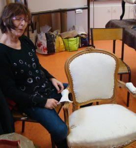 Réfection de sièges - Bientôt les finitions...