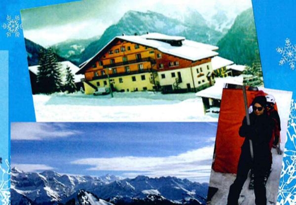 Séjour au ski. Association «AILES»