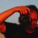Laurent Govaert : animateur de l'atelier d'initiation photographique.