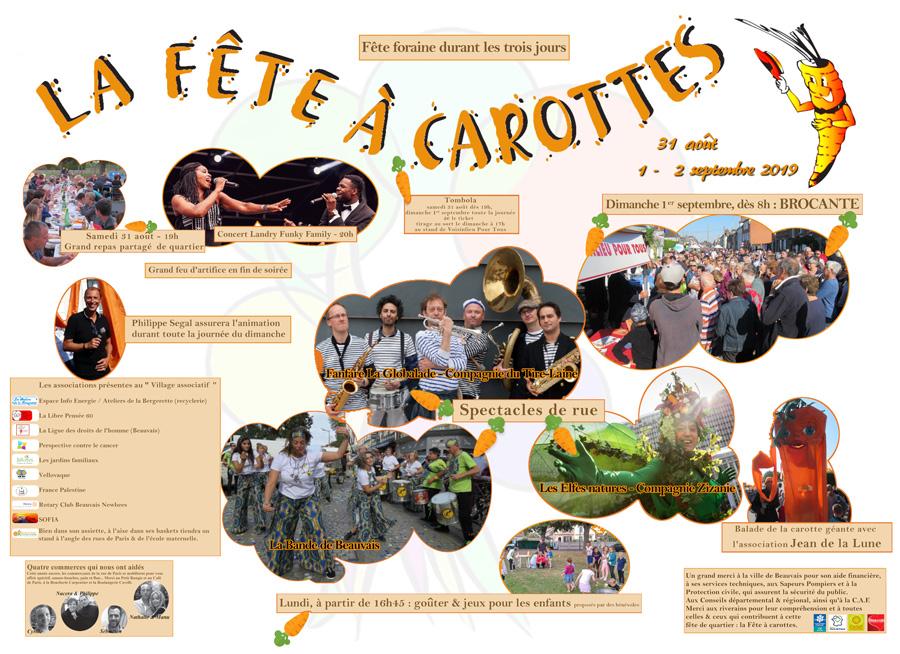 La gazette de Voisinlieu. Pages internes spéciales fête à carottes.