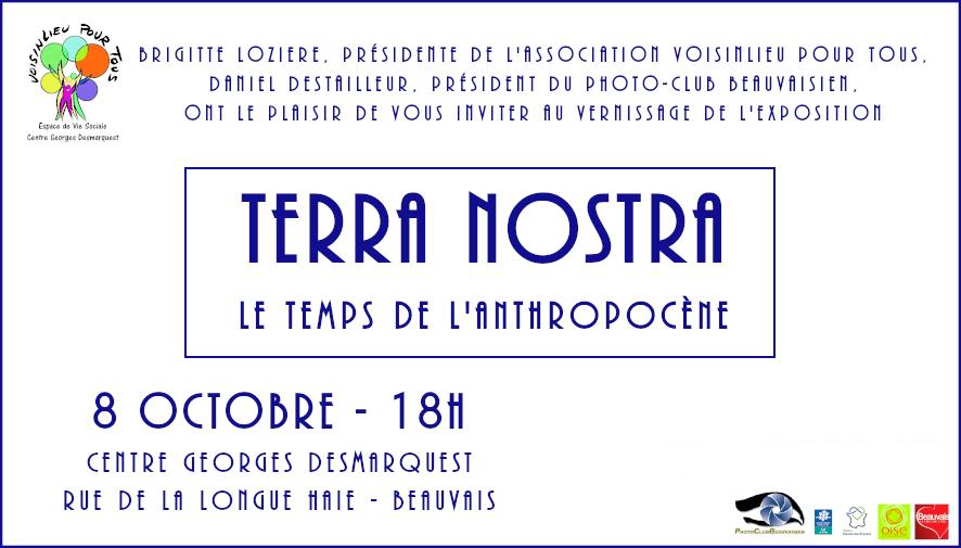 invitation au vernissage de l'exposition du photo-club beauvaisien
