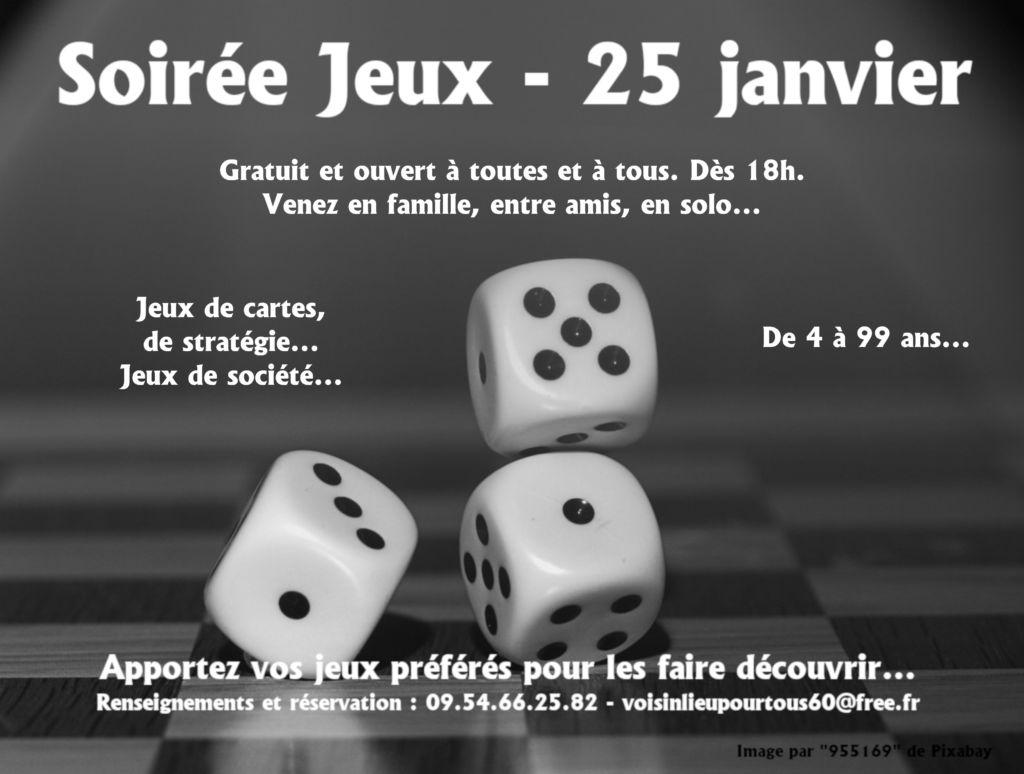 Soirée jeux à Voisinlieu Pour Tous