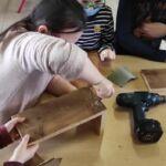 Réalisation de nichoirs (école Jean zay)